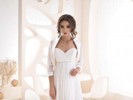 coprispalle sposa e cerimonia aperto davanti alta qualità