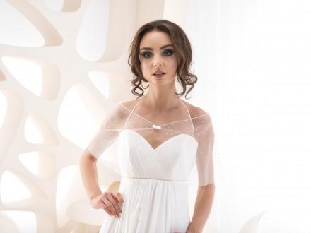 Stola sposa semitrasparente collezione 2020
