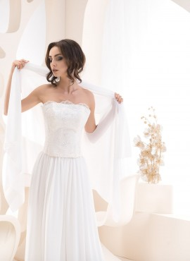 Stola per sposa cerimonia semplice delicata collezione 2020