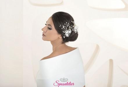 Accessori capelli sposa modelli 2020 cod.G58