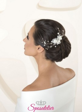 Accessori capelli sposa collection 2020 cod.G59