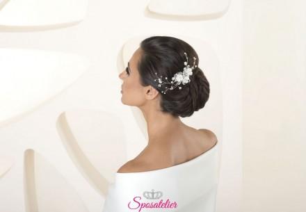 Accessori capelli sposa collection 2020 cod.G59