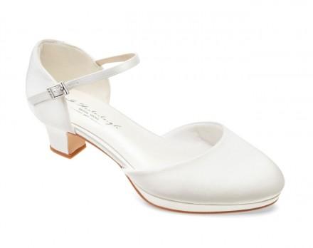 Becca- scarpe sposa 2021 online con tacco largo altezza 4 cm