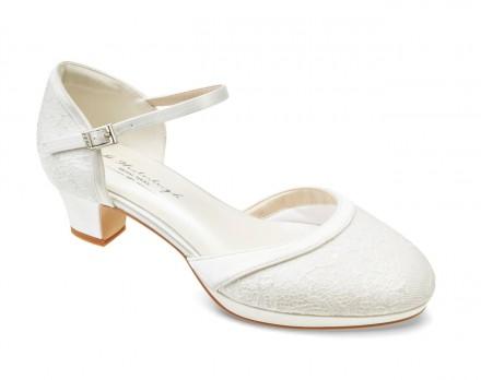 Berta- scarpe sposa 2021 online comode con tacco largo