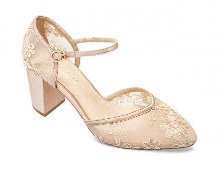 Marisol- scarpe sposa o cerimonia colorate collezione 2021 nude