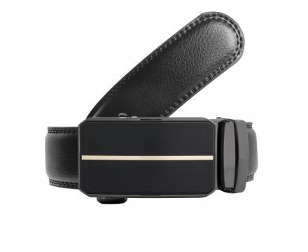 cintura uomo senza fori regolabile fibbia automatica di alta qualità nuova collezione