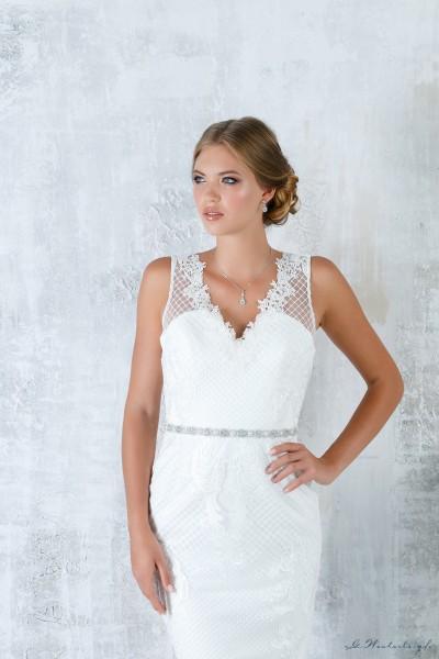 Cintura di perle e cristalli per abito da sposa nuova collezione