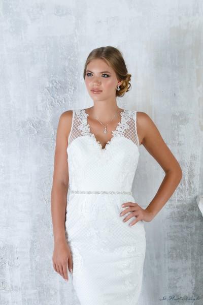 Cintura staccabile per abito da sposa decorata con cristalli scintillanti