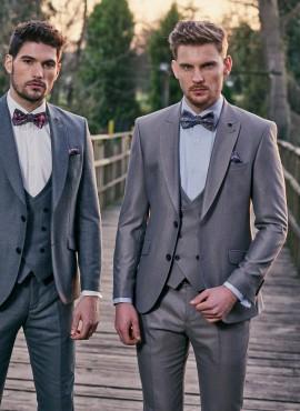 abito da sposo scontato prezzi online grigio chiaro