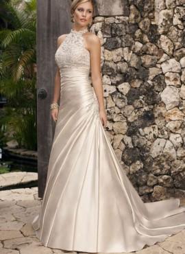 luxuriöses Hochzeitskleid