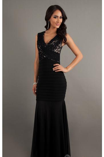 vestito nero di classe su misura sartoria italiana