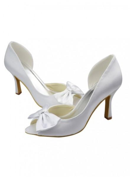 Scarpe da Sposa online economiche italia tacco basso semplici