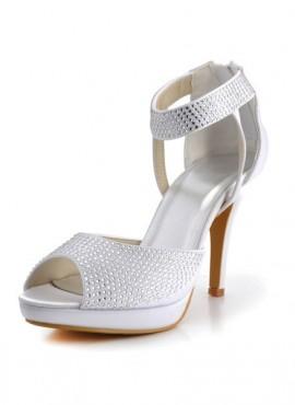 scarpe sposa economiche con brillantini
