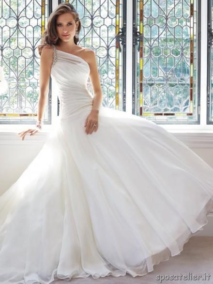 molly abito da sposa a-line online monospalla